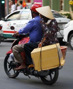 bike conical hat