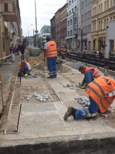 Prague workers