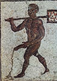 roman mosaic phallus