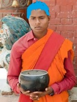 buddhist beggar